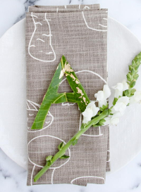 DIY Personalized Leaf Place Cards