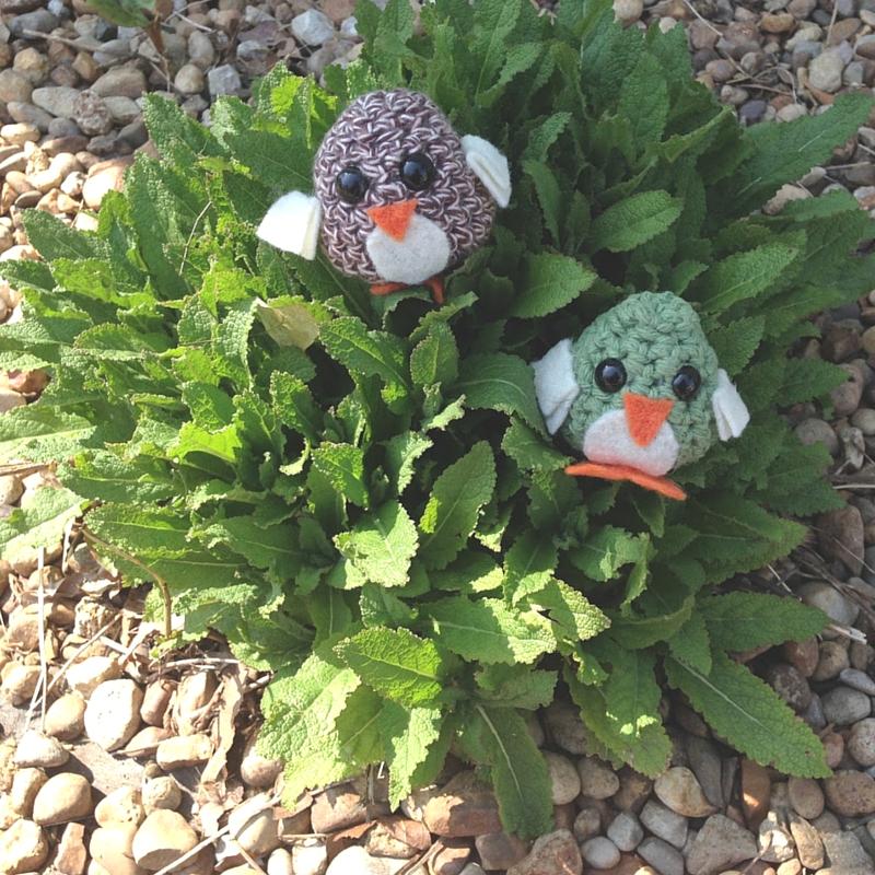 Mini Crochet Birds