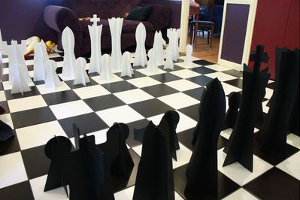 DIY Giant Chess
