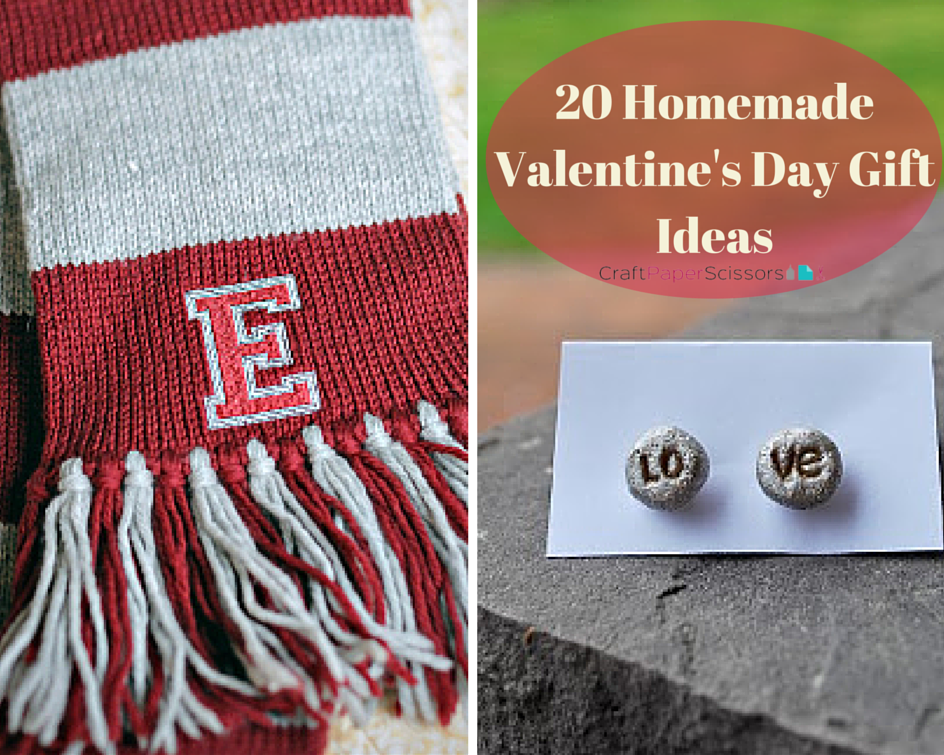 20 Homemade Valentine's Day Gift Ideas