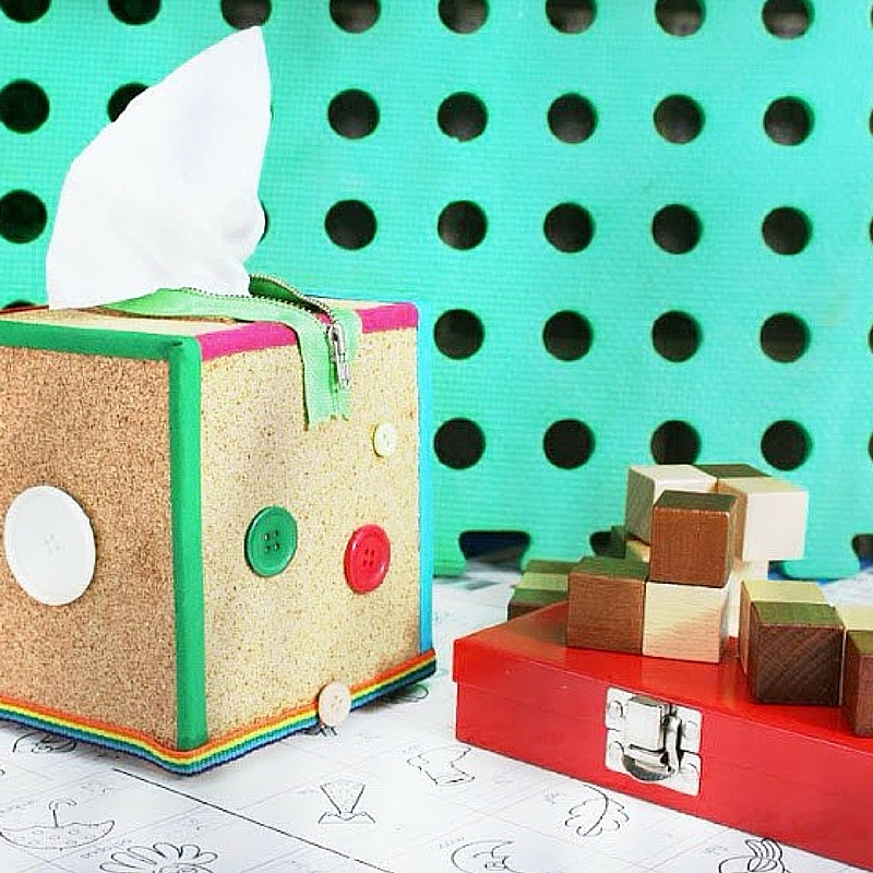 Trendy Tissue Box Cover