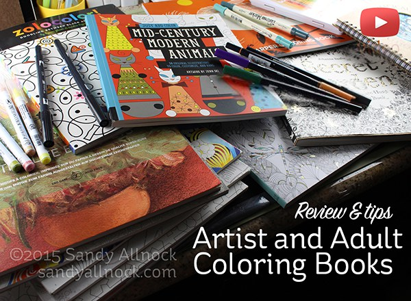 Sandy-Allnock-Artist-Adult-Coloring-Books1