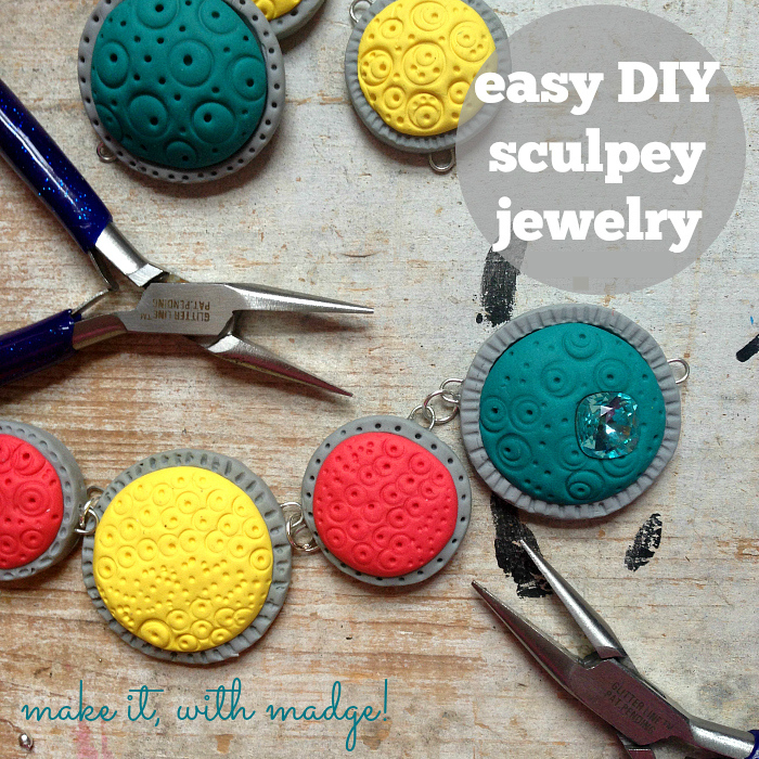 Easy DIY Sculpey Jewelry