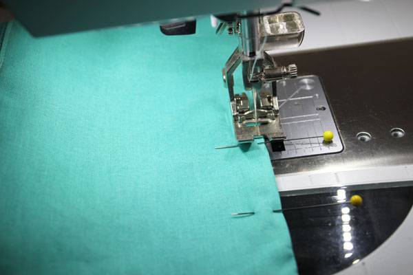 Stitch Hole Closed On Lining