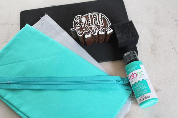 Supplies For Zipper Pouch