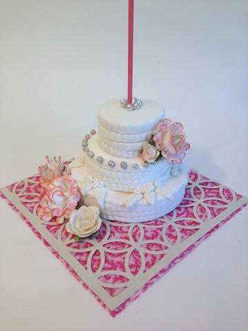 DIY Wedding Cake Table Sign