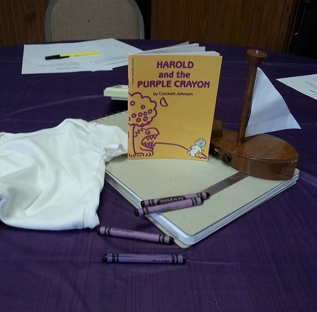 Harold and the Purple Crayon Decorations