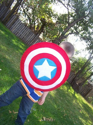 Captain America's Vibranium Shield