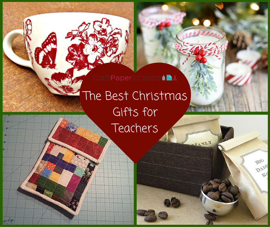 The Best Christmas Gifts for Teachers - Craft Paper Scissors
