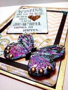 Wax Paper Butterfly