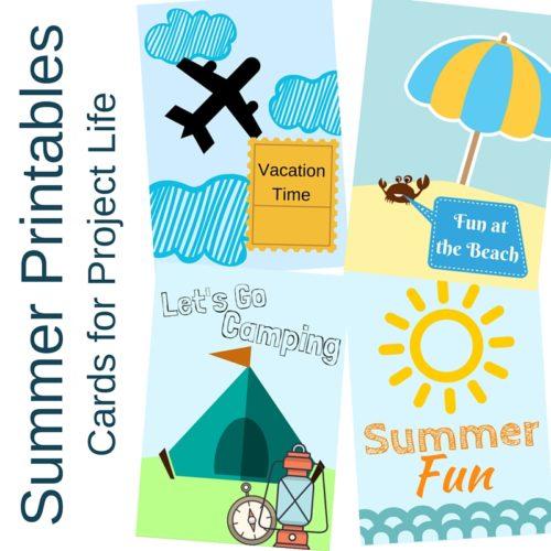 Summer Printables