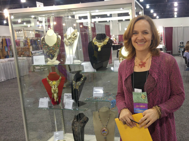 Julia Gerlach has with Bead&Button magazine for 11 years.