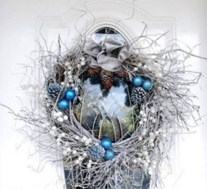 Winter Willow Wreath