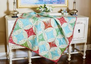 Merry Mistletoe Quilt Tutorial