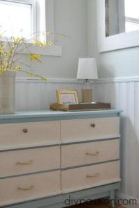Nautical Dresser Furniture Makeover