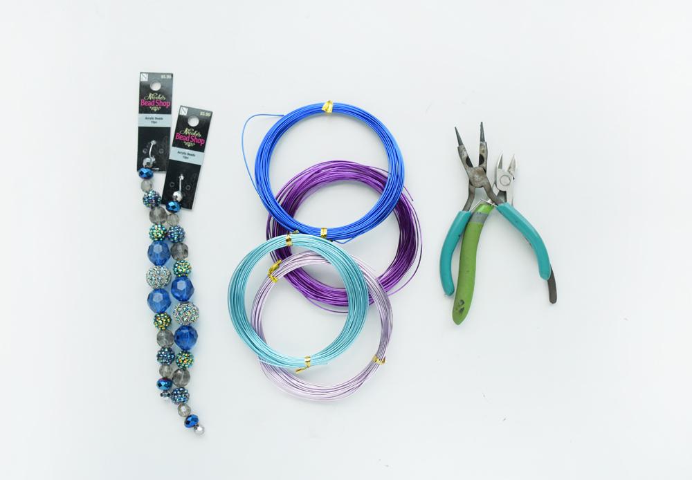 Fairy Garden Wire Flowers - Craft Paper Scissors