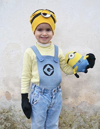 Homemade Minion Costume  sc 1 st  Craft Paper Scissors & 7 DIY Kidsu0027 Halloween Costumes - Craft Paper Scissors