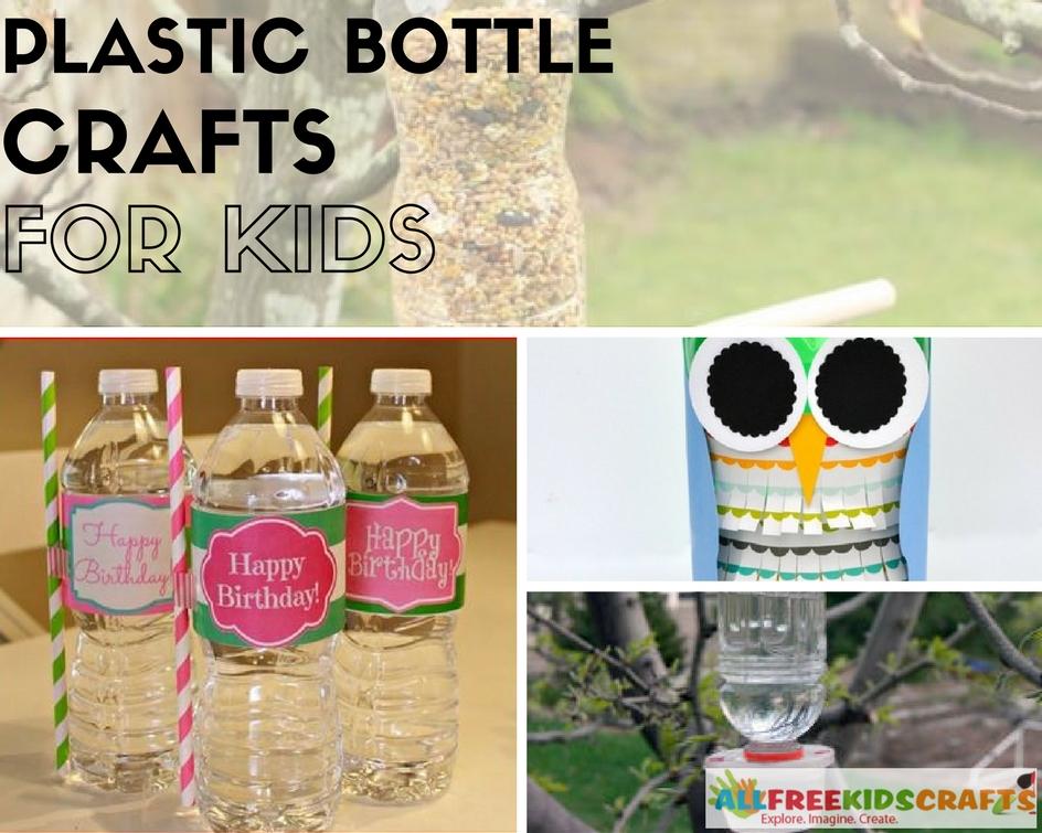 7 Plastic Bottle Crafts for Kids 7
