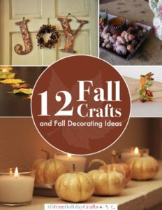 12 Fall Crafts and Fall Decorating Ideas eBook