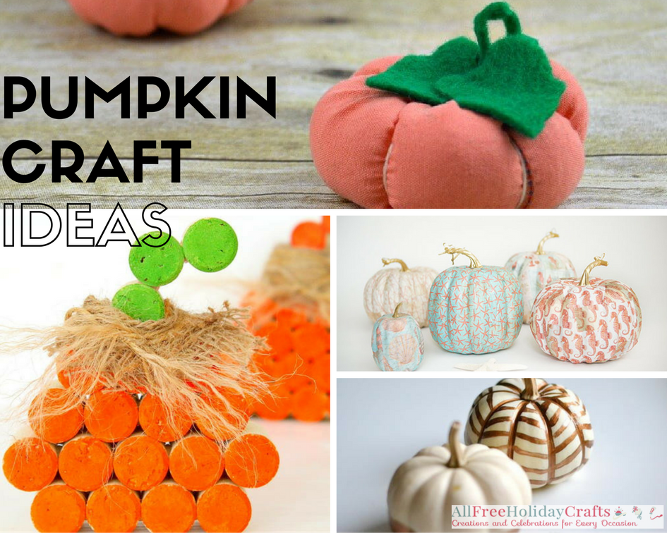 Pumpkin Craft Ideas for November