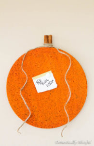 Cute Pumpkin DIY Bulletin Board