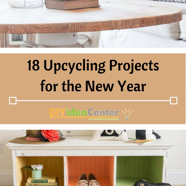 18 Upcycling Projects for the New Year