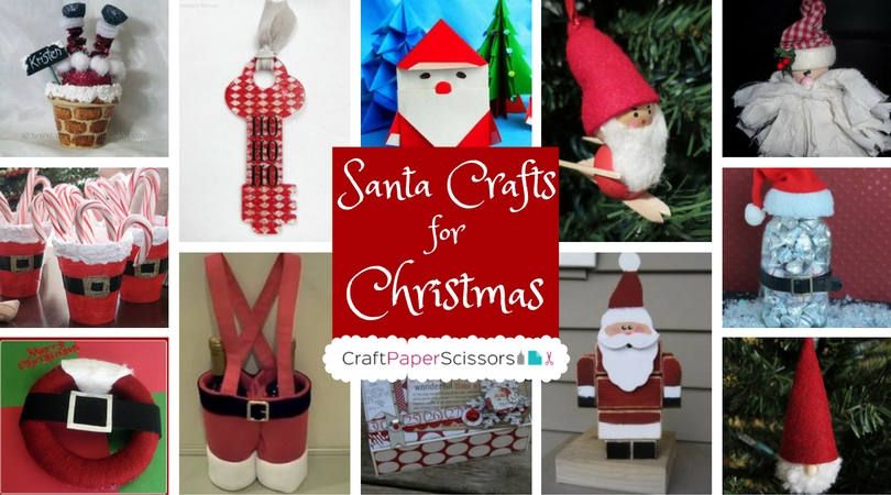 21 Santa Crafts for Christmas