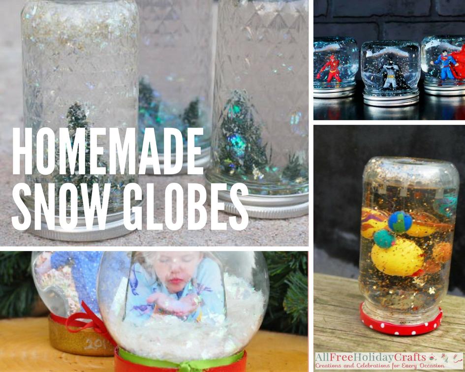 Homemade Snow Globes