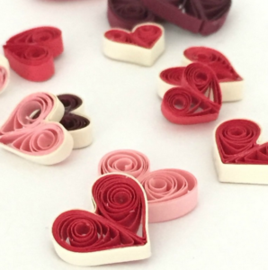 Quilled Hearts In Four Ways