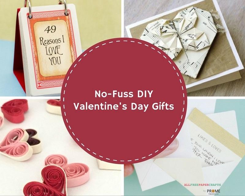 No-Fuss DIY Valentine's Day Gifts