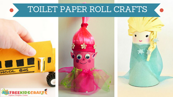 20 Cool Toilet Paper Roll Crafts For Kids Craft Paper Scissors