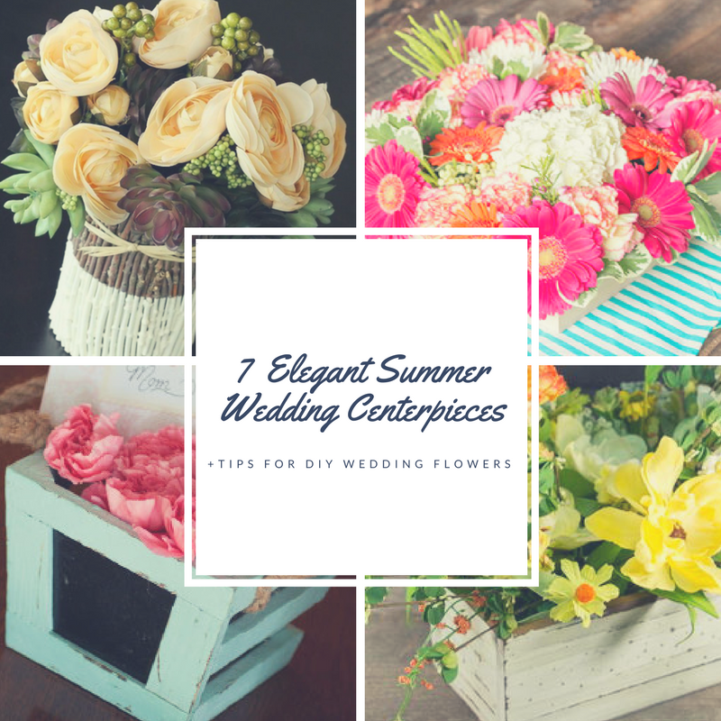7 Elegant Summer Wedding Flowers