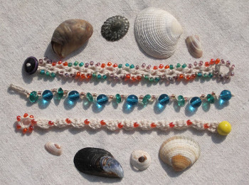 Make Waves Beachy Crochet Bracelet