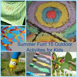 Summer Fun! 15 Outdoor Activities for Kids