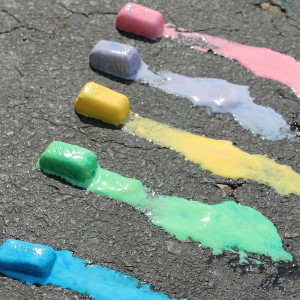 Rainbow Ice Chalk