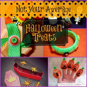 Not Your Average Halloween Treats