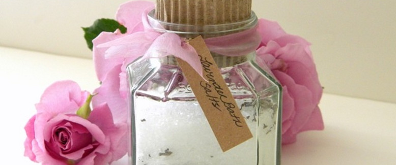 Homemade Bath Salts Recipe