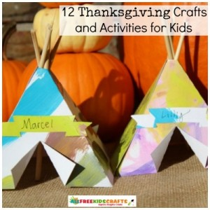 Thanksgiving Survival Guide: 12 Thanksgiving Crafts and Activities for Kids