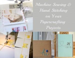 Stitching on Paper Crafts