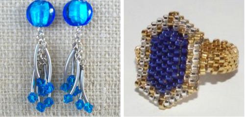 DIY Jewelry in Jewel Tones: Sapphire