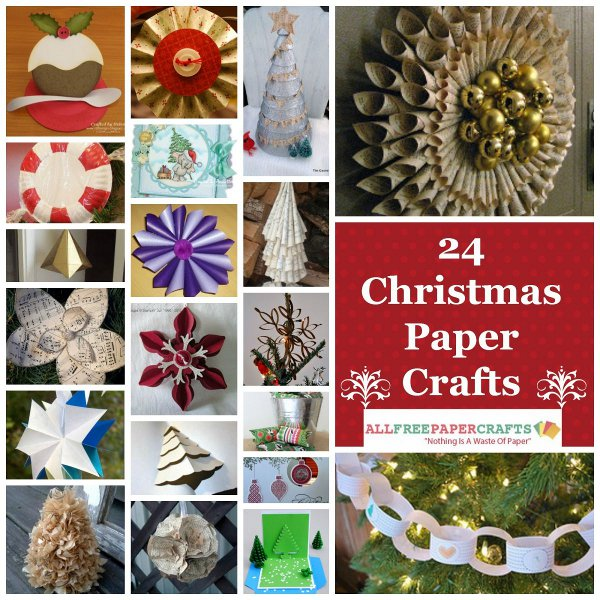 24 Christmas Paper Crafts