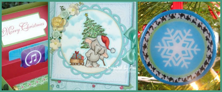 Christmas in July Paper Craft Ideas