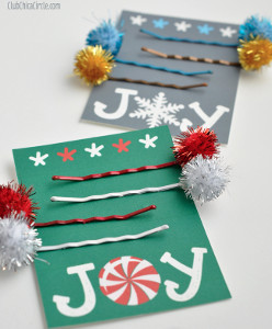 Holiday Hairpins