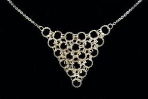 Divine DIY Jewelry: Easy Chainmaille Necklace