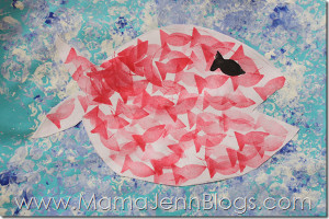 Adorable Swimmy Paper Craft
