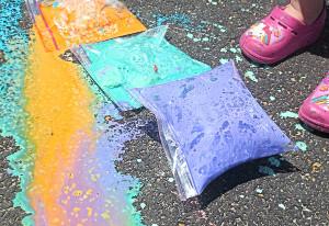 Fun Exploding Paint Bags