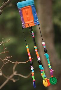 Whimsical DIY Wind Chime