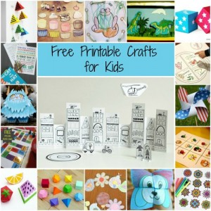 63 Free Printable Crafts for Kids
