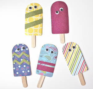 Printable Paper Popsicles