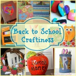 Back to School Craftiness